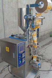 液体四边封双泵自动包装机